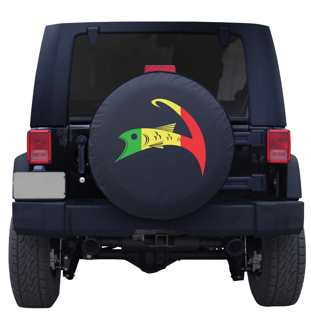 Forshore Rasta Cape Cloth Tire Cover Jeep Blk Back.jpeg