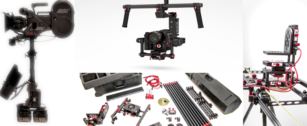 WE PROVIDE: Sony F5 (4K) -Sony FS7 - Sony A7SmII (4K) - Zeiss Super Speed Primes - Cooke Zoom - Steadicam® - camBLOCK Motion Control - DJI Ronin Gimbal - DJI Phantom Quadcopter - HMI/LED/KINO Lighting - Audio and more.
