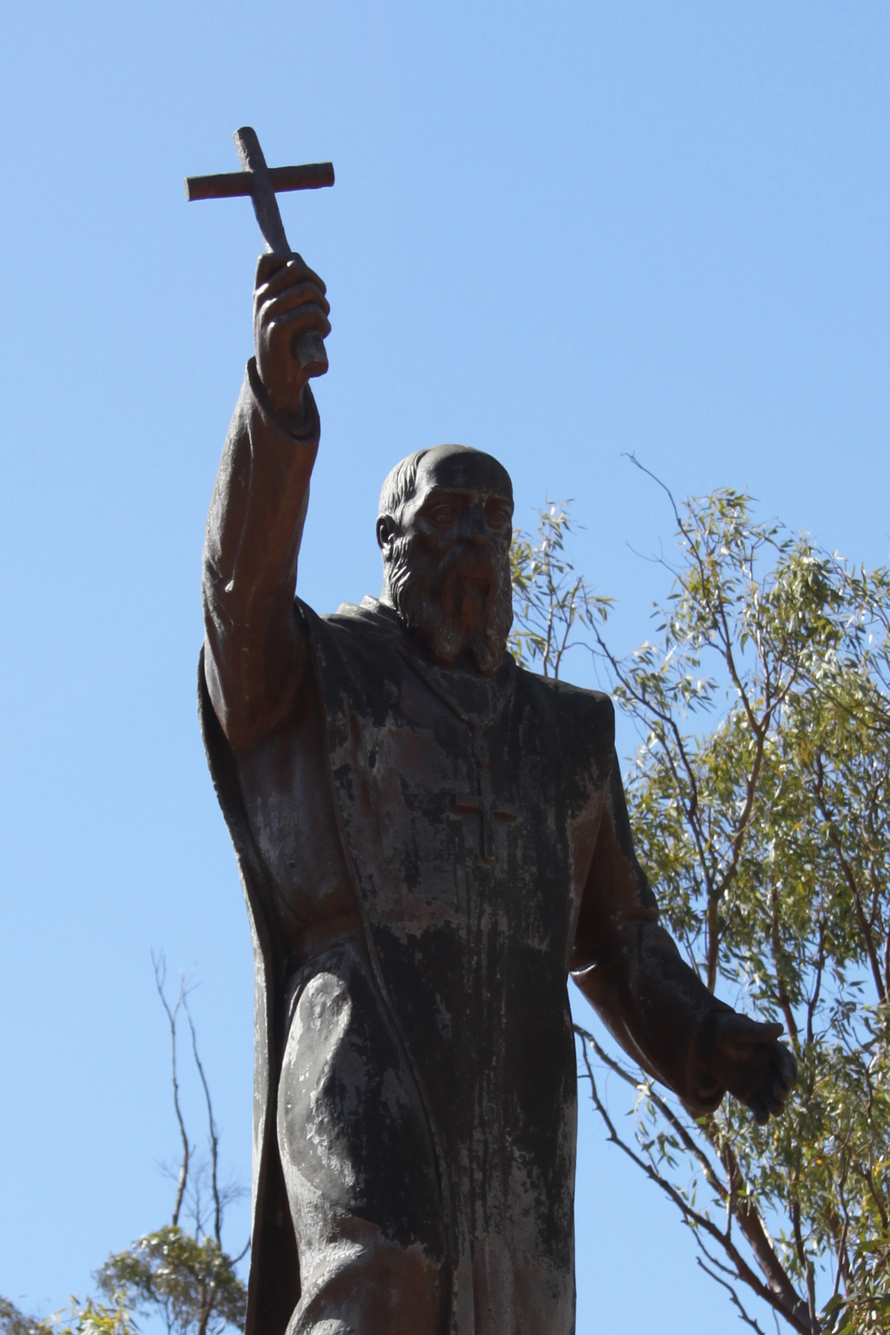 2015 JANUARY Statue of Dom Rosendo Salvado, the founder of New Norcia. Anna Hartley for The Washington Post.jpg
