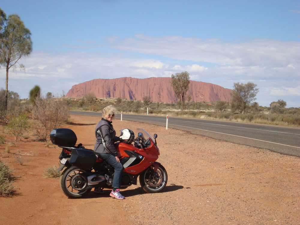 Outside Uluru/Lynne Oakes