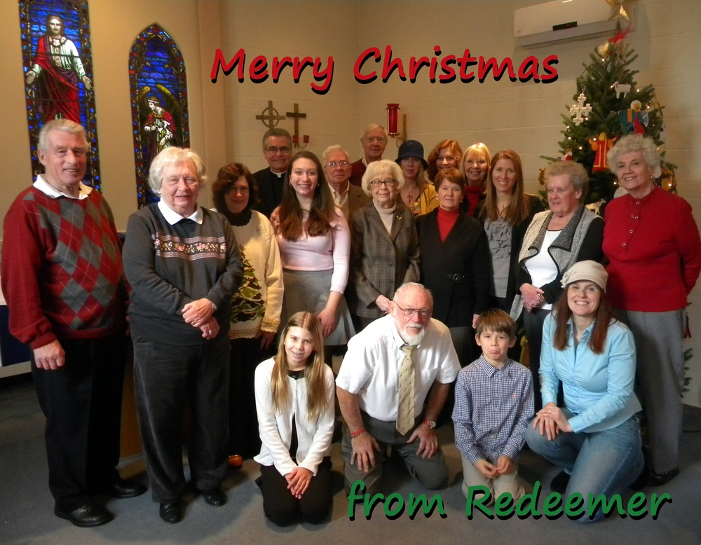 Merry Christmas from Lutheran Church of Our Redeemer!