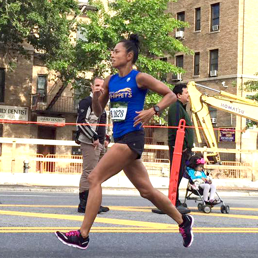 Patricia T.  2017 Boston Marathon