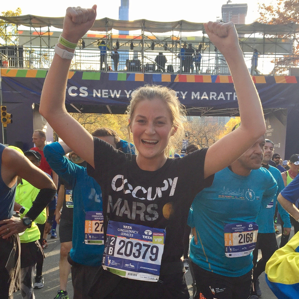Samantha Dunn 2017 TCS New York City Marathon