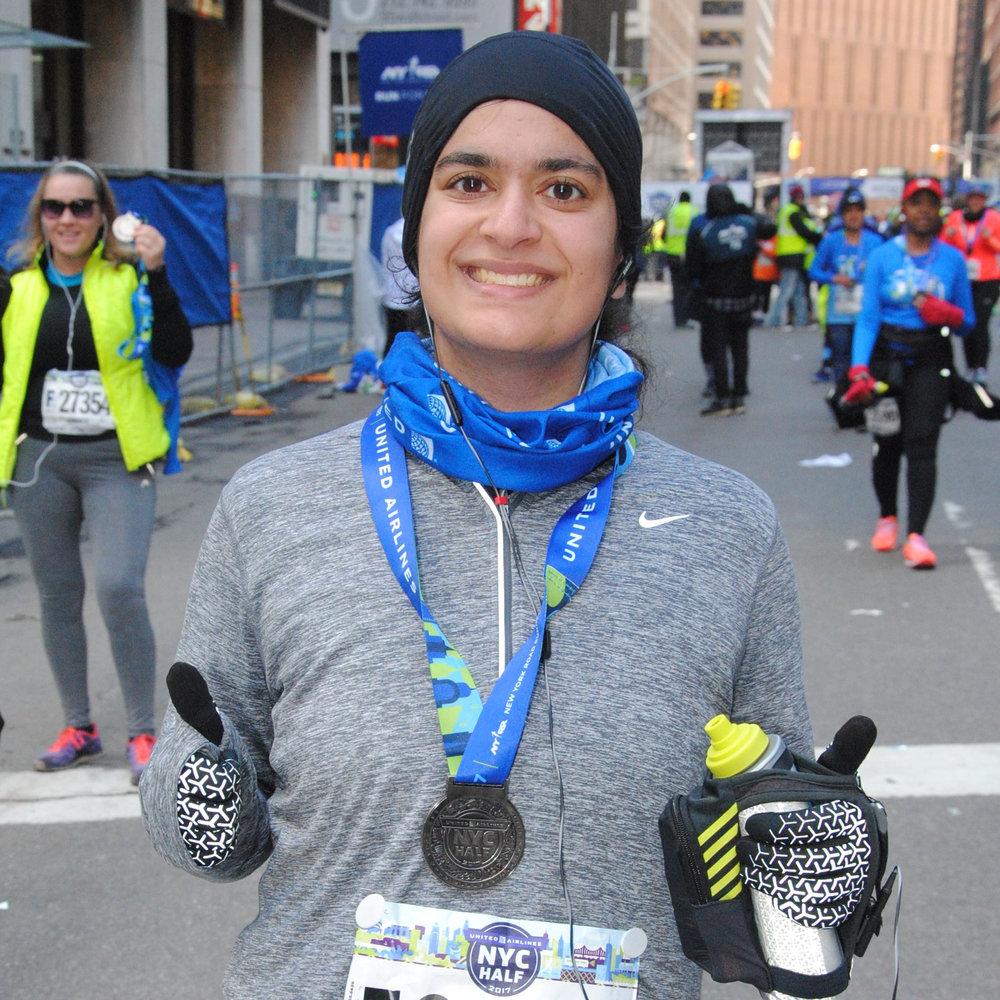 Angela Singh 2017 TCS New York City Marathon