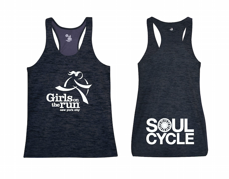 Check out this year's custom GOTR & SoulCycle tank!