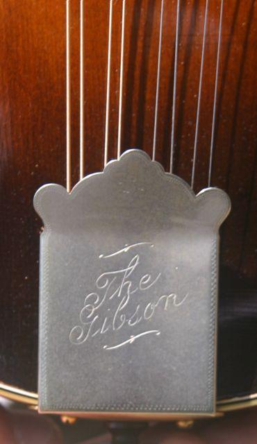 Lloyd Loar mandolin 79719 tailpiece
