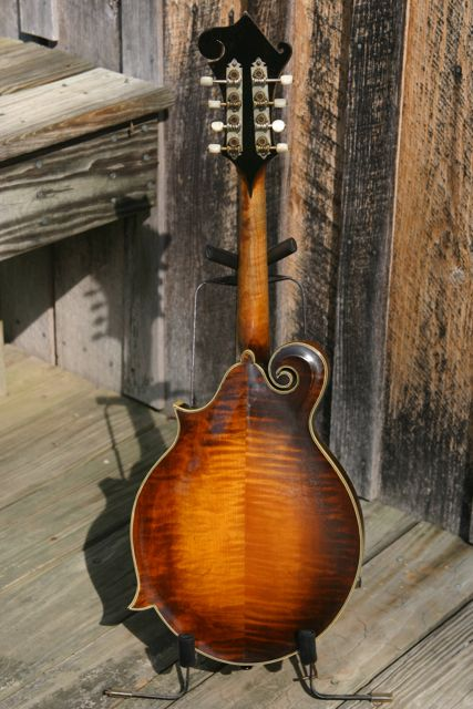 Lloyd Loar Mandolin 72857 back