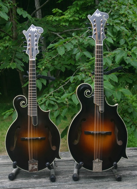 Randy Wood Mandolins Front
