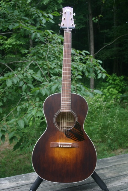 Randy Wood O Guitar Front