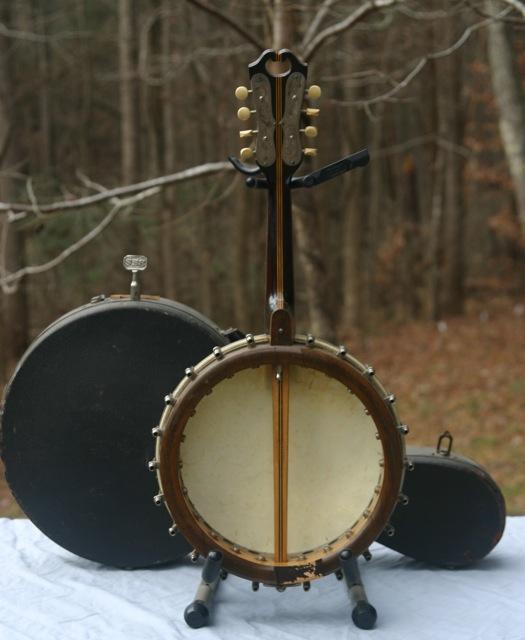 Stewart banjo-mandolin back