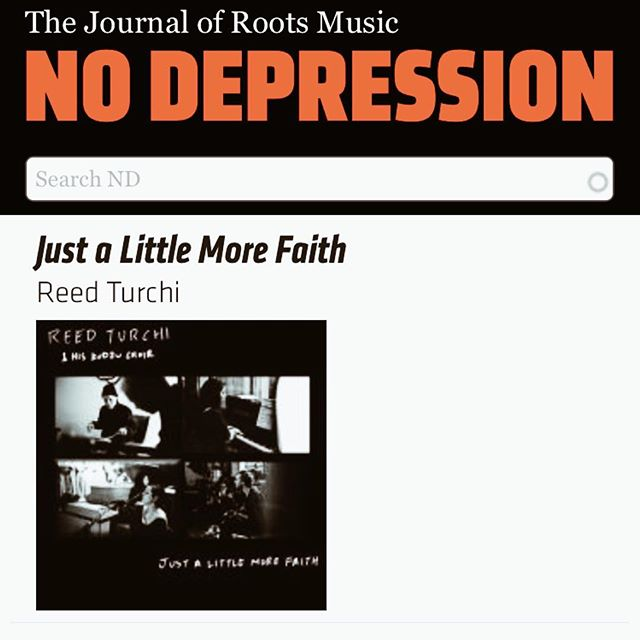 "Feature in @nodepression : 👌. ""Just a little more faith"" featured in their new releases showcase!"