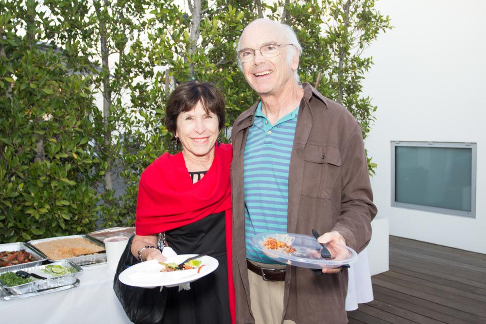 Judy Gelfand & Wayne Marcus