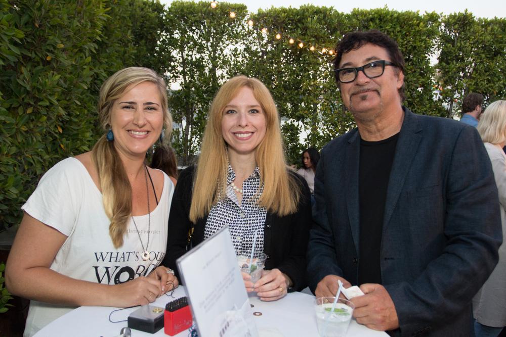 Jenna Baum of MyIntent, Rosie Ulfik, Tommy Faragher