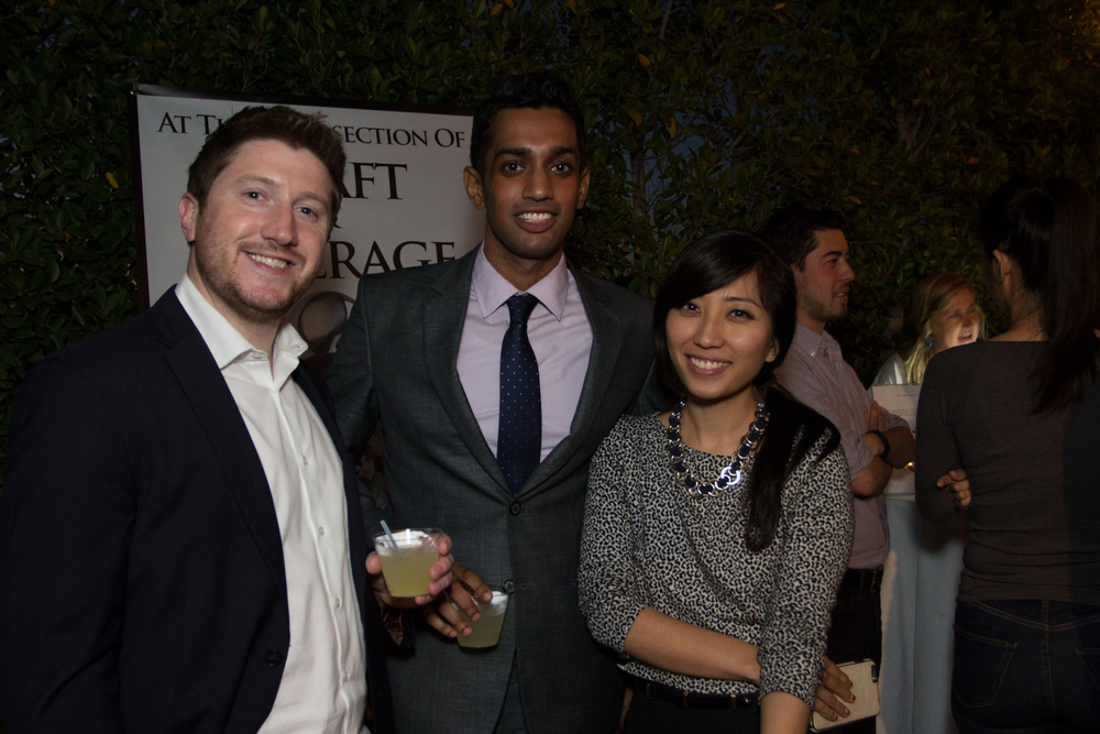 Vikram Arumili of CAA,Suzy Ryoo, & Guest