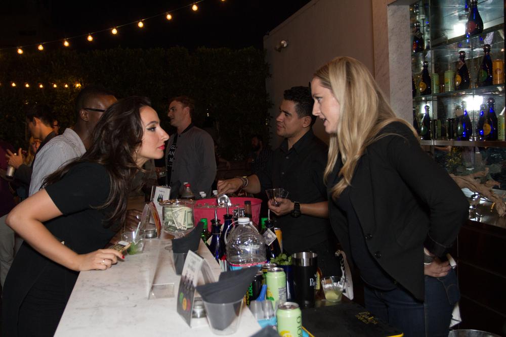 Aliza Kelly Faragher of Align & Katie O'Connor of Pura Vida Tequila