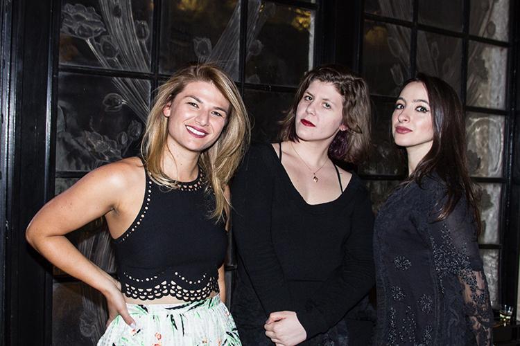 Helen Grossman, Kayli Baldasare, Aliza Kelly Faragher