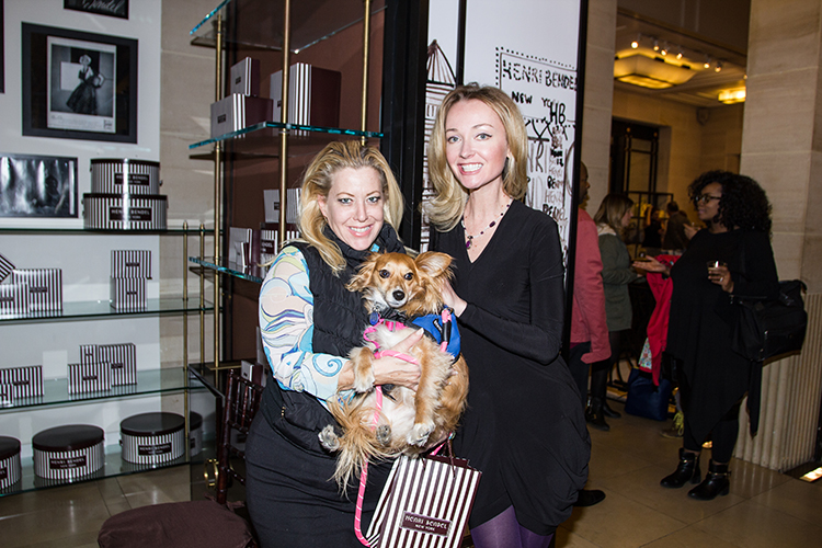 SuzyMae Howard and Align x Henri Bendel Guest & Doggy