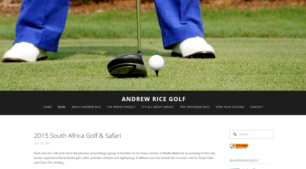 Andrew Rice Golf