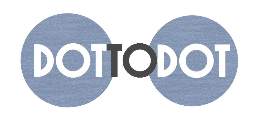 dot to dot logo With TEXTURE