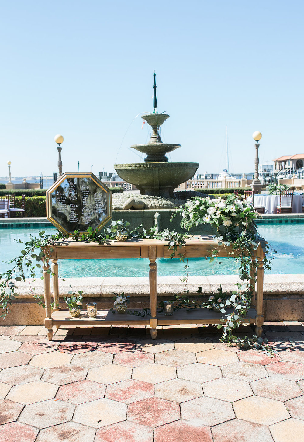 Jacksonville Wedding Florist | Epping Forest Yacht Club