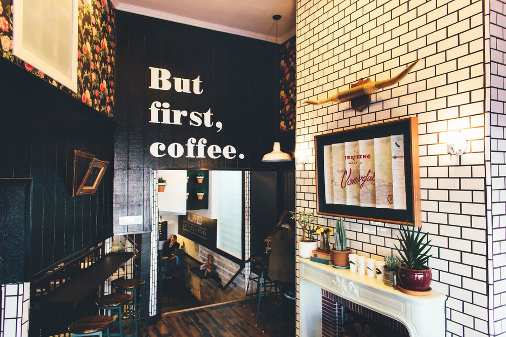 Alfred Coffee & Kitchen Interior