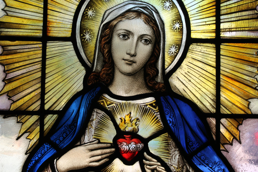 Immaculate Heart of Mary Fr James Bradley Flickr St Casimir Church Baltimore, Maryland