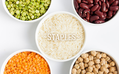 Stock your pantry with our fine selection of grains and pulses
