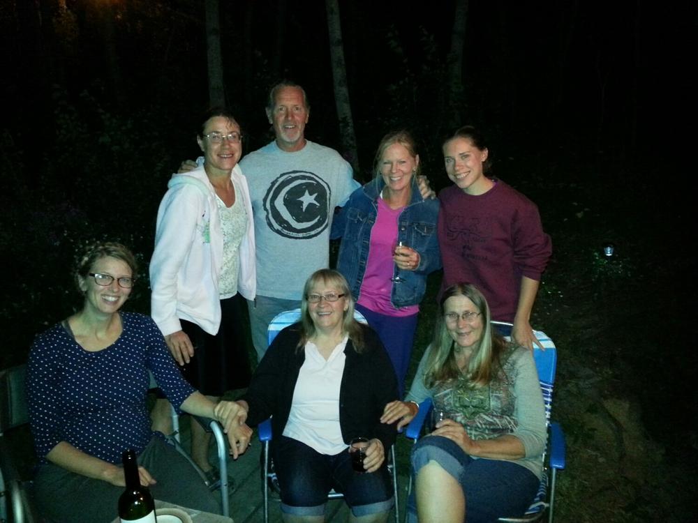 Standing, Tara, Greg, Peggy, Gaelen  Sitting, Chrissy Jeanette, Elaine