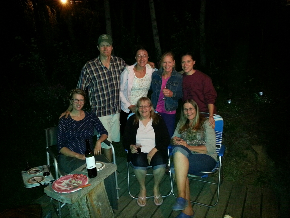 Standing,Shawn, Tara, Peggy, Gaelen Sitting Chrissy, Jeanette, Elaine.