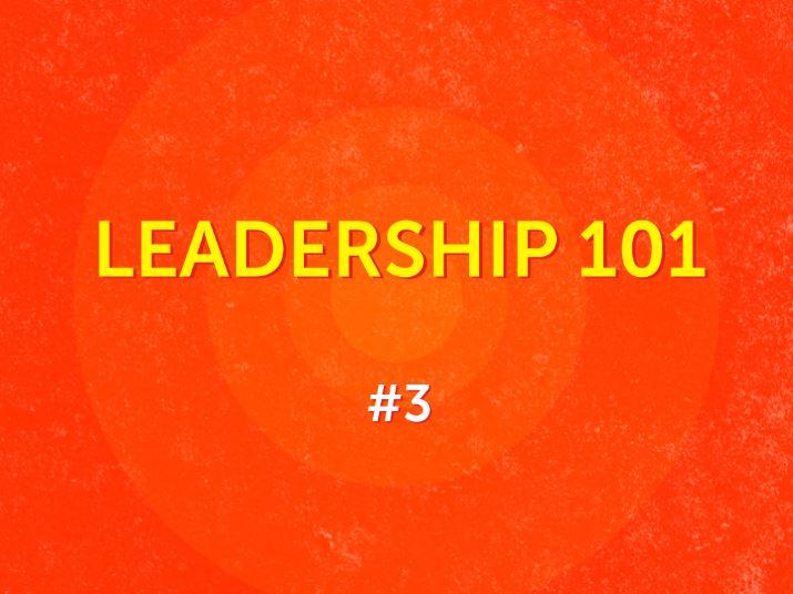 #3 - Leaders of Vision