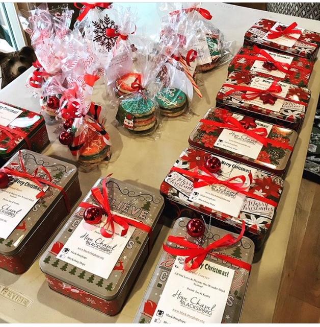 Community Christmas Cookies