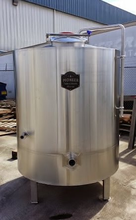 A 7 BBL Brew Kettle.