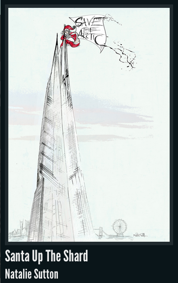 Greenpeace: Santa up the Shard