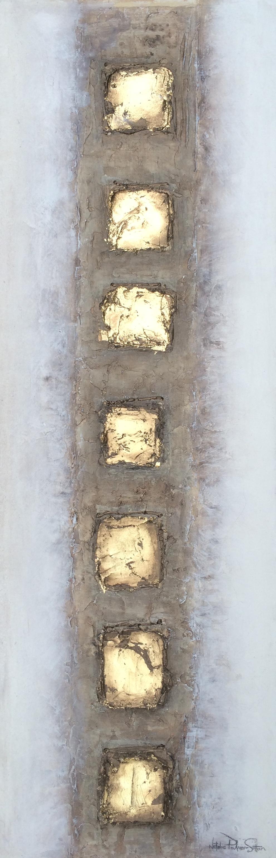 Bronze & Gold Original Abstract_Natalie_Palmer_Sutton