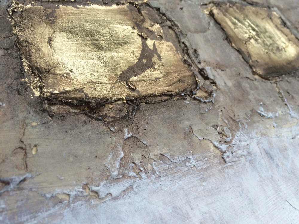 Bronze & Gold Abstract