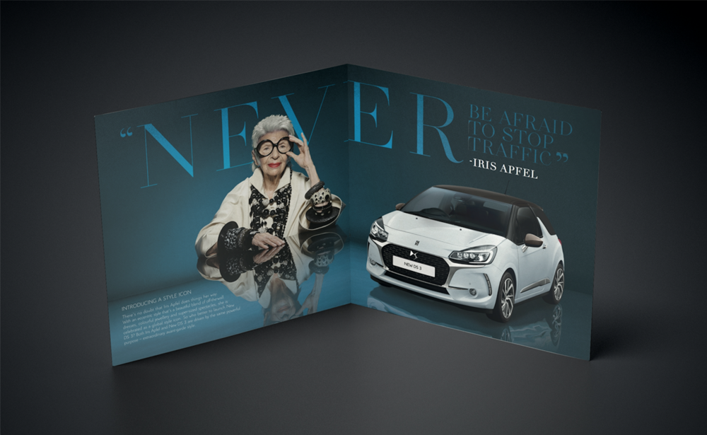 DS 3 BROCHURE - DRIVEN BY STYLE -NATALIE SUTTON ART DIRECTION ILLUSTRATION P_2_3