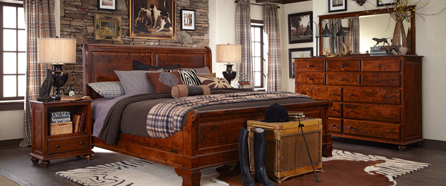 Bedroom, Leather furniture, Smith Brothers, Hooker Furniture, Simply Amish, La Crosse Craftsmanship, handcrafted, Bed set, mill craft, borkholder, whittier wood, Schwartz & Creations, Urban Collection, CVW, American made