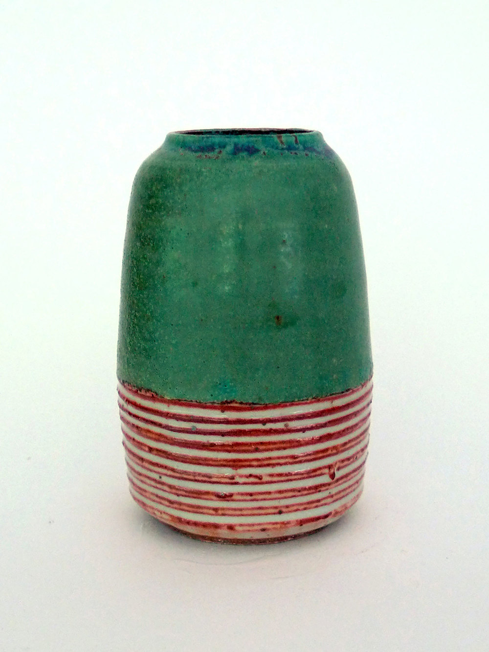 Beach Stripe Vase