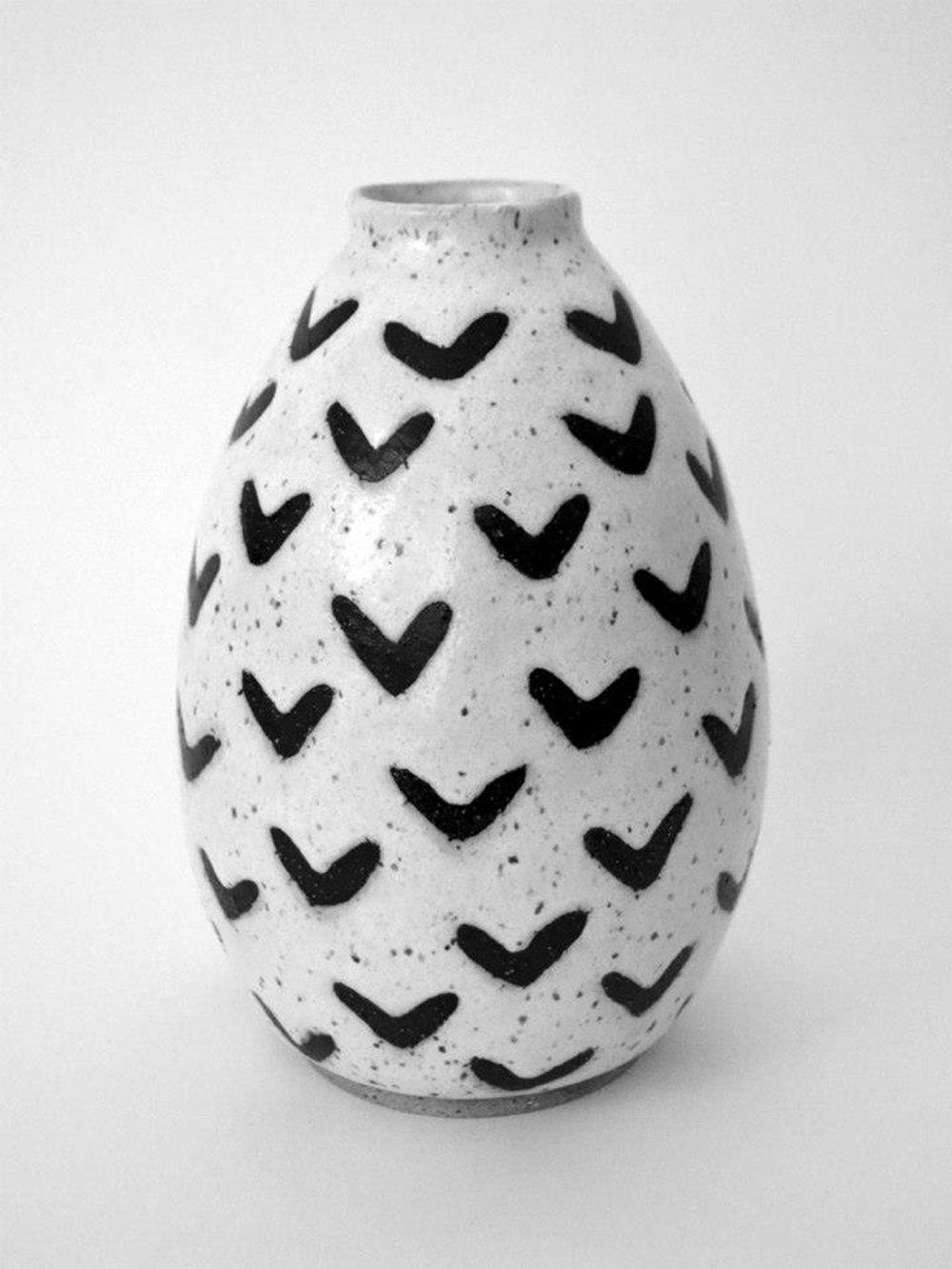 Flying Bats Vase