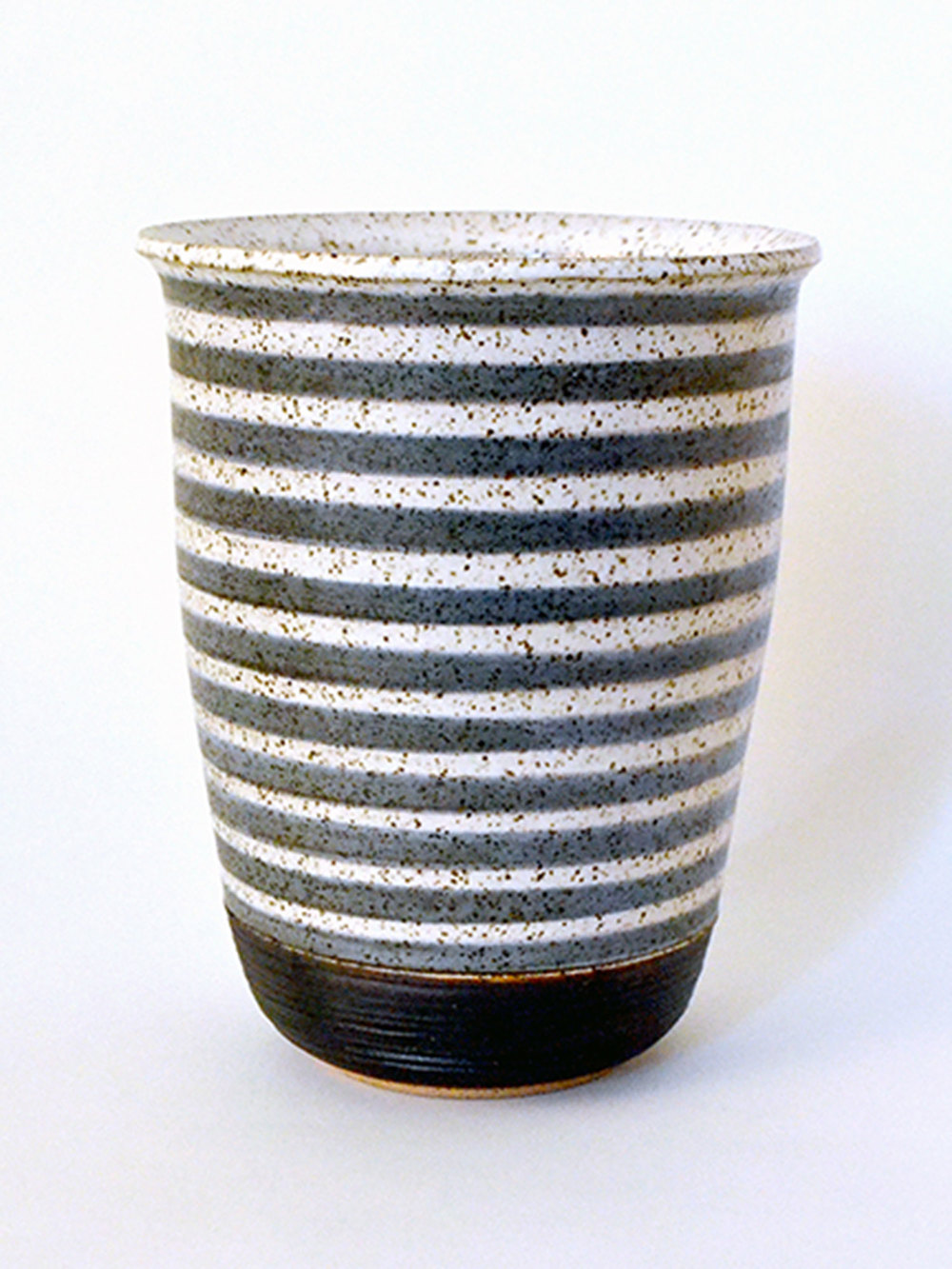 Striped Beach Vase