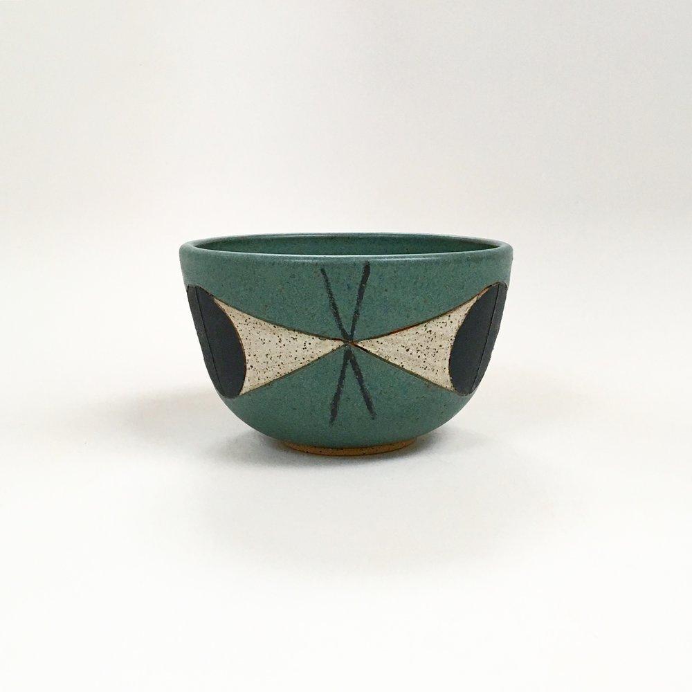 Green Felix Bowl
