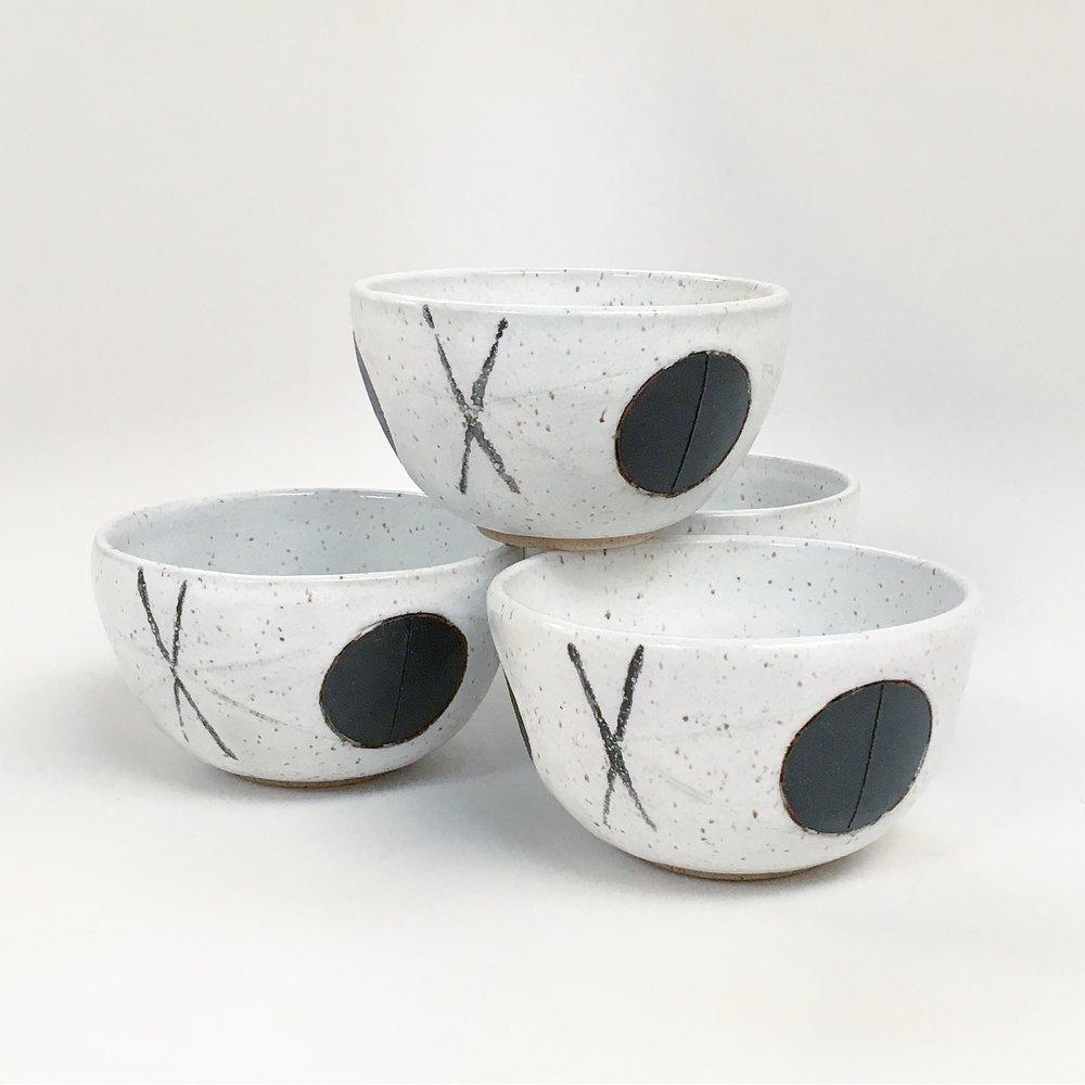 White Felix Bowls