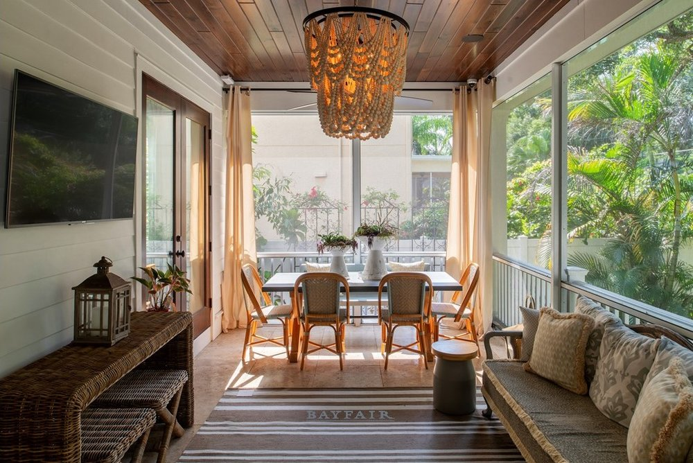 Sunset Park Screened Porch