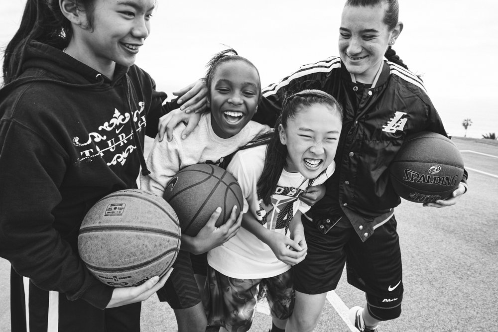 Apply for a #ShePlaysWeWin Scholarship - Grants are awarded to fuel the positive power of sport and fitness on a young women's self-confidence and its lasting effects throughout her life.  We award a variety of young female athletes, from economically-disadvantaged communities to up-and-coming all-stars who require additional resources for mental, physical and emotional coaching.
