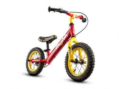 FIRETRUCK 12 inch Steel Push Bike AGES 2 - 4 Sales price: R 895,00