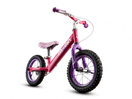 PINKIE 12 inch Steel Push Bike AGES 2 - 4 Sales price: R 895,00