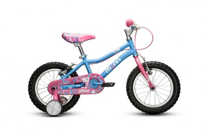 GLITTER 14 inch Steel Pedal Bike AGES 4 - 6