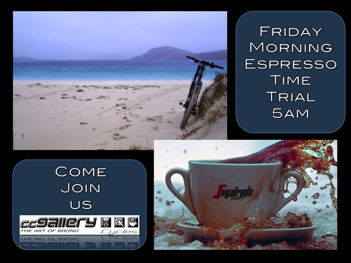 Friday Morning Ride 5am from the Spar on Kensington drive, Durban North. All are welcome to join. See you there