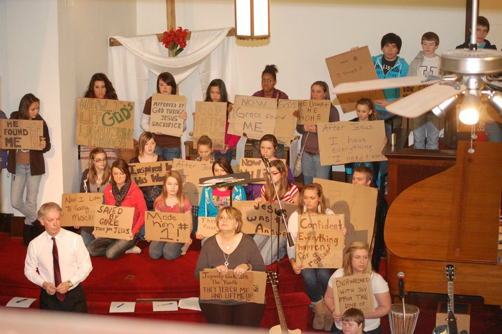 Cardboard Campout Testimonies - Fall 2012