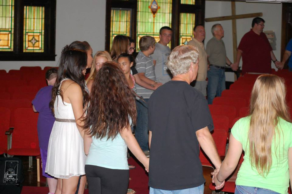 Youth-Led Worship Service - The Rising - Aug 2014